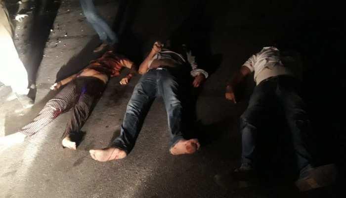 Jaipur में देर रात बड़ा सड़क हादसा, तीन लोगों की मौके पर ही मौत