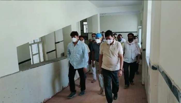 Jaipur : सामोद में कोविड सेंटर सुचारू रूप से हुआ शुरू, 30 मरीजों का इलाज जारी