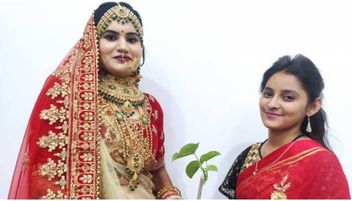 Corona Wedding: कोरोना काल की सबसे अनूठी शादी, मेहमानों को दिए Giloy और Tulsi के पौधे