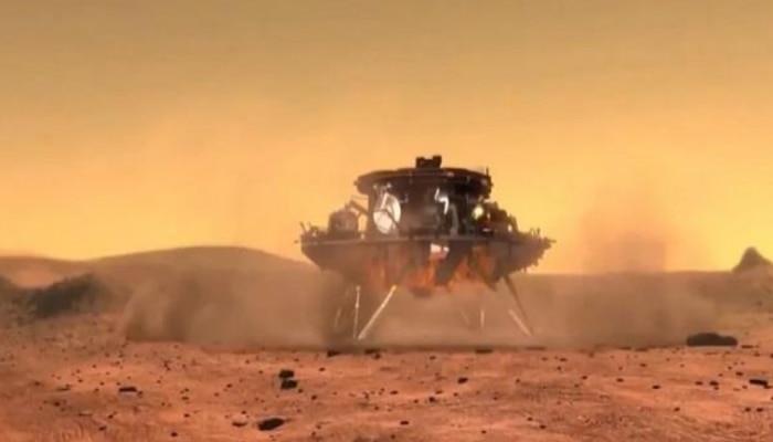 अमेरिका के बाद चीन ने भी मंगल ग्रह पर उतार लिया पहला रोवर, बन गया दूसरा देश