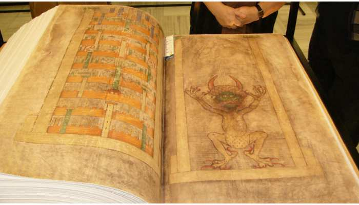 knowledge devil s bible codex gigas was written in one night nobody knows its secret weird news