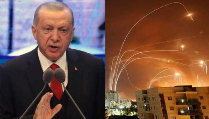 इजराइल ने फिर किए गाजा पट्टी पर हमला, तुर्की के राष्ट्रपति इरदुगान ने दी यह बड़ी वार्निंग