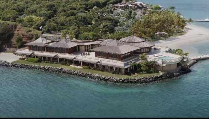 After divorce from Bill Gates Melinda Gates went private Calivigny Island Inside pics