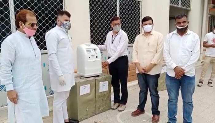 Tonk जिला प्रशासन को मिले 23 ऑक्सीजन कंसंट्रेटर, आमजन को मिलेगी राहत