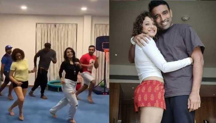 Robin Uthappa ने पत्नी Sheethal Goutham के साथ दिखाया Dance Moves, Ruturaj Gaikwad ने दिए 10 में से इतने नंबर