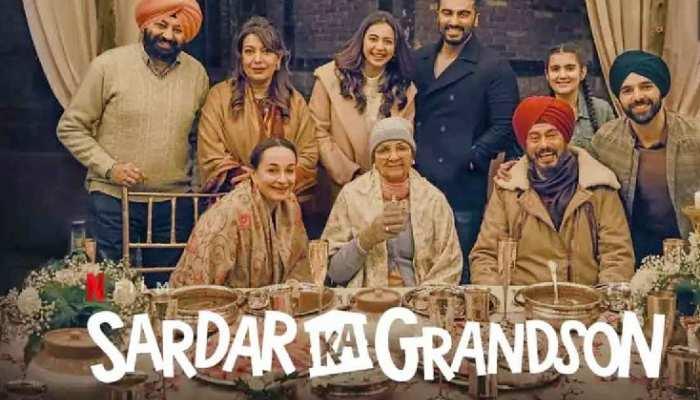 अर्जुन कपूर की फिल्म 'सरदार का ग्रैंडसन' रिलीज, गर्लफ्रेंड और बहन ने की तारीफ