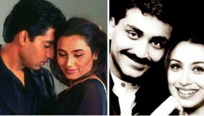 rani mukerji fall in love with aditya chopra after break up with abishek bachchan than got married