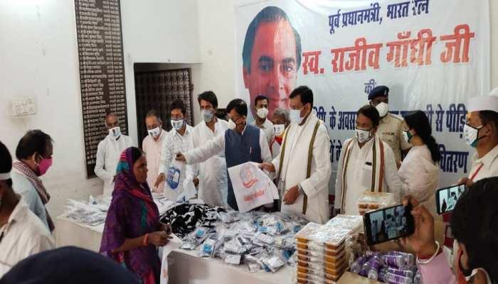बिहार कांग्रेस ने Covid Diwas के रूप में मनाया राजीव गांधी की पुण्यतिथि, लोगों के बीच बांटा गया मेडिकल किट