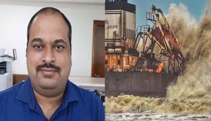 समुद्र की लहरों से हारा उज्जैन का बेटा, मुंबई में जहाज डूबने के बाद इंजीनियर अनंत का शव मिला