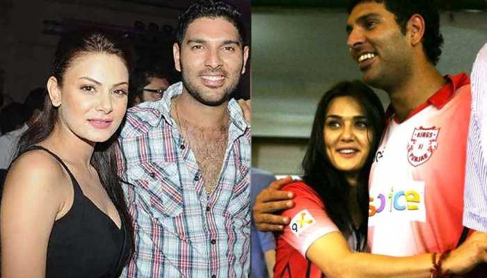 Yuvraj Singh Ex-Girlfriends Full List, Yuvi Affairs with Bollywood actresses, See Photos