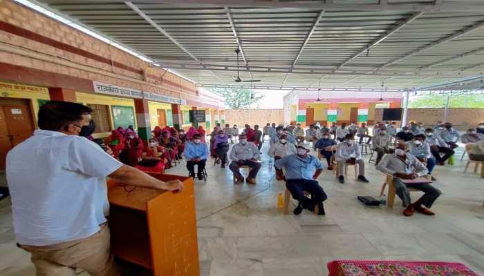 ग्रामीणों क्षेत्रों में कोरोना वायरस के प्रति बढ़ाई जाए जागरूकता: हरीश चौधरी