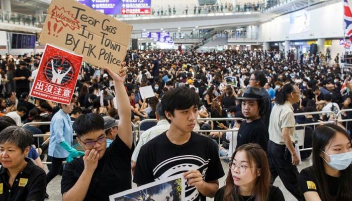 2019 के हांगकांग प्रदर्शन, लोकतंत्र समर्थकों को 14 से 18 माह की सजा