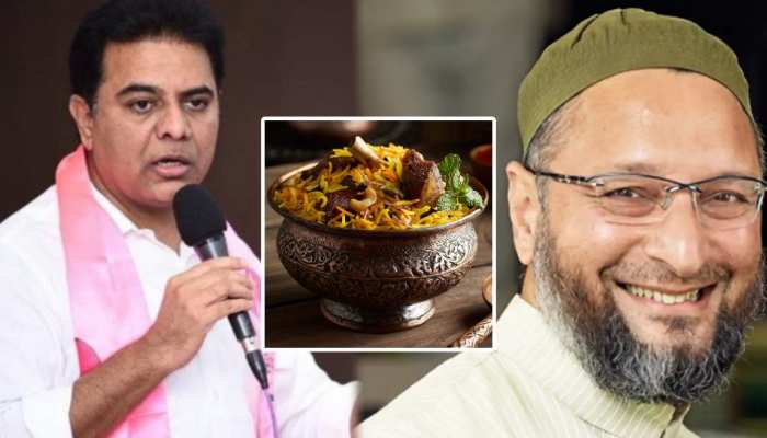 बिरयानी में एक्सट्रा लेग पीस नहीं मिला तो मंत्री को किया Tweet, Asaduddin Owaisi ने लिए 'मजे'