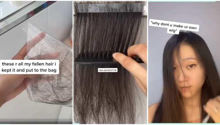 Hair Fall से परेशान लड़की ने आजमाए Weird Hacks, आप भी ट्राई कीजिए