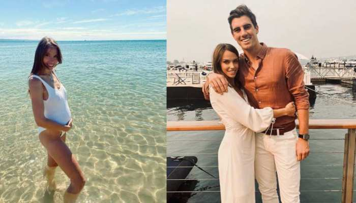Pat Cummins Pregnant Girlfriend Flaunt Baby Bump after reunited with her Partner in Australia