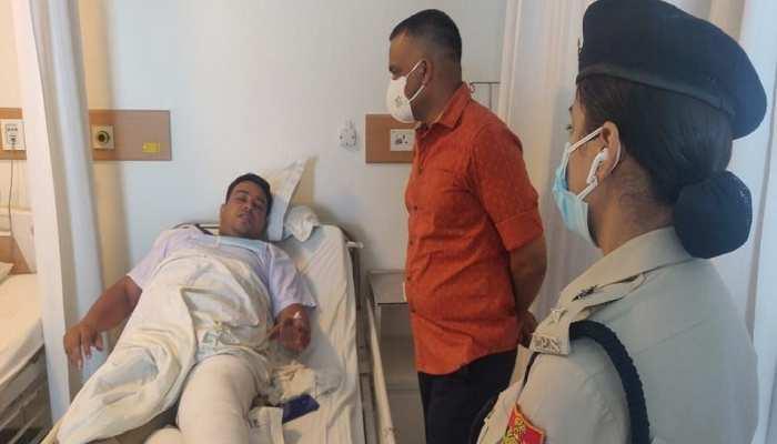 जख्मी होने के बाद भी कॉन्स्टेबल ने नहीं मानी हार, बदमाशों का पीछा कर किया गिरफ्तार