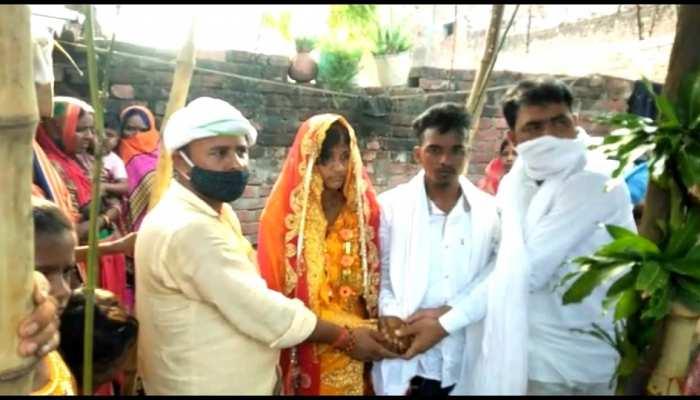 बक्सर में हुई सच्चे प्यार की जीत! मुखिया की पहल पर प्रेमी जोड़े ने रचाई शादी