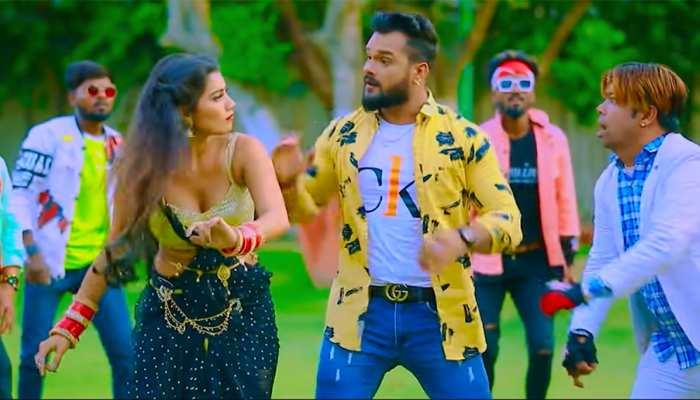 Khesari Lal Yadav और Toshi  के नए गाने 'हम तुम्हारे हैं सनम' ने मचाया धमाल, देखिए VIDEO