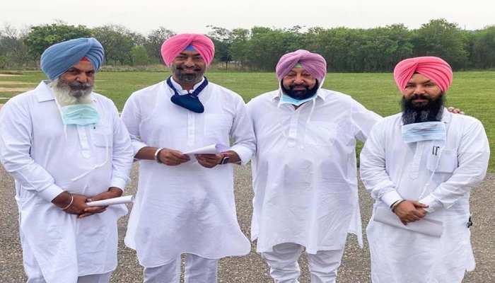 CM अमरिंदर सिंह को मिली संजीवनी, पंजाब में आप के तीन बागी विधायक कांग्रेस में शामिल