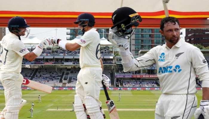 ENGvNZ लॉर्ड्स टेस्ट: कॉन्वे के दोहरे शतक के बाद बर्न्स और रूट ने इंग्लैंड को संभाला