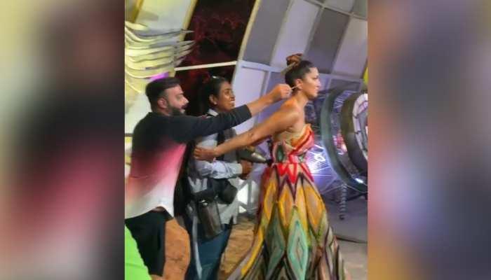 शॉट के लिए तैयार हो रही थी Sunny Leone, अचानक किसी ने पीछे से करदी ऐसी हरकत, देखिए VIDEO