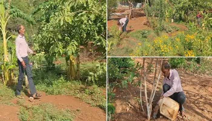 ये हैं MP के सुंदर लाल बहुगुणा: इनकी प्रेरणा से युवाओं ने दो पहाड़ियों को कर दिया हरा-भरा