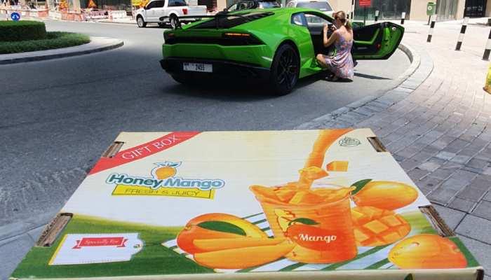आम की डिमांड बढ़ाने के लिए पाकिस्तानियों ने लगाया दिमाग, Lamborghini में होती है डिलीवरी साथ में फ्री Ride