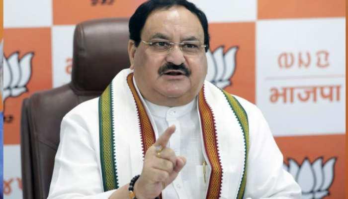 BJP में मंथन का दौर, 5 राज्यों के चुनाव से पहले आज प्रभारियों संग अध्यक्ष J P Nadda की बैठक