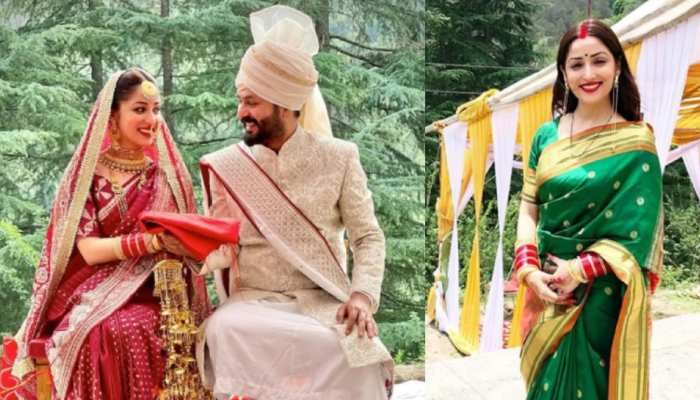 शादी के बाद  Mrs.Yami Gautam की पहली तस्वीर आई सामने, सिंदूर और चूड़े में जम रही एक्ट्रेस