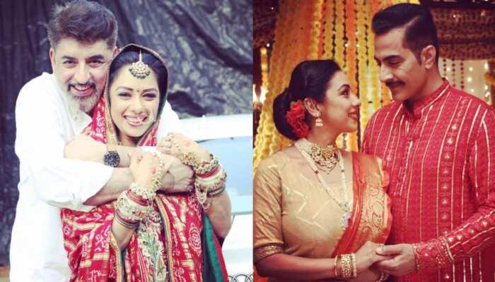 Anupamaa fame Rupali Ganguly Love Story, her husband Ashwin Left Job to get married with rupali