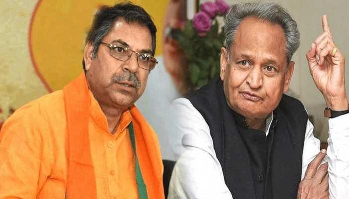 मेयर-पार्षदों के निलंबन पर BJP ने किया प्रदर्शन, पूनिया बोले-तानाशाही रवैया अपना रही गहलोत सरकार