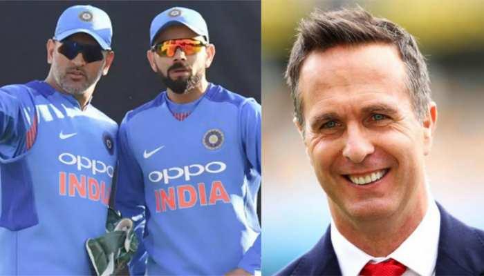 Virat Kohli और MS Dhoni में कौन हैं जीनियस कप्तान? Michael Vaughan ने बताया ये नाम