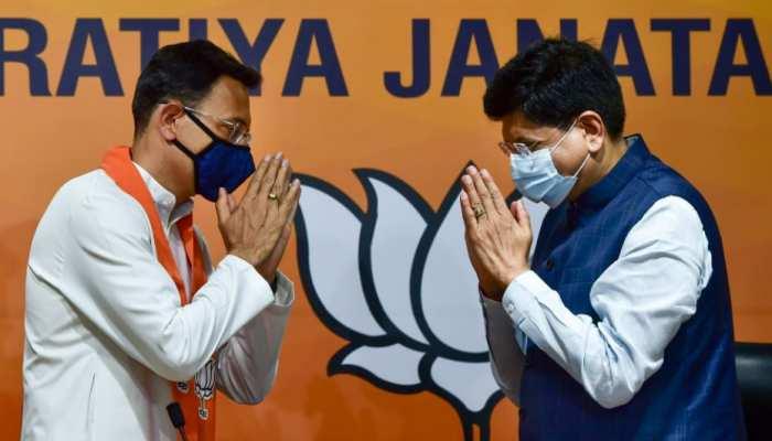 कांग्रेस नेता Jitin Prasada बीजेपी में शामिल, खुद बताई पार्टी छोड़ने की वजह