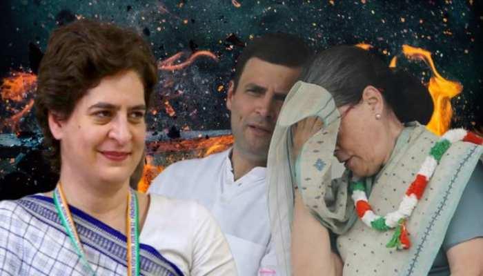 प्रियंका और राहुल की वजह से बर्बाद हो रही है कांग्रेस? ऐसे तो सिर्फ 'परिवार' बचेगा