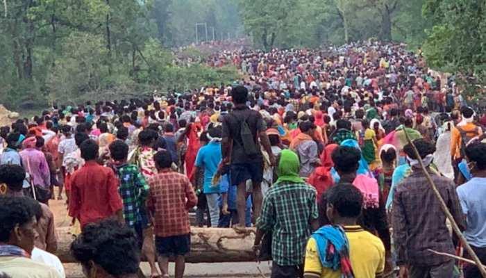 सिलगेर आन्दोलन: 10 हजार ग्रामीणों और नारों के बीच, 28 दिनों से जारी आंदोलन पर लगा विराम