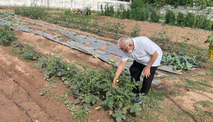 खेत खलिहान से होती है मुख्यमंत्री की सुबह की शुरुआत