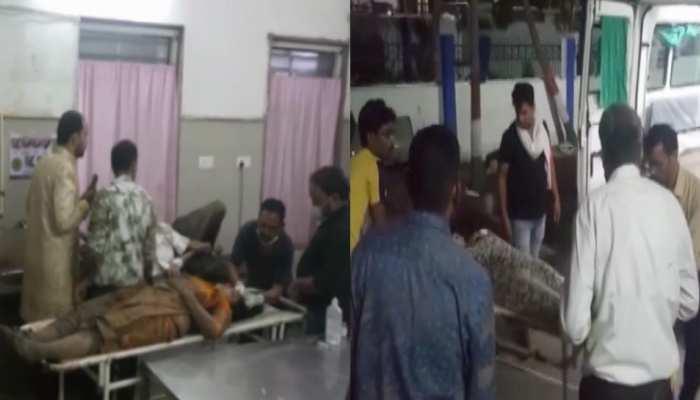 Damoh Accident: मिनी बस में शादी से लौट रहा था परिवार, देर रात जीप ने मारी टक्कर, 11 घायल