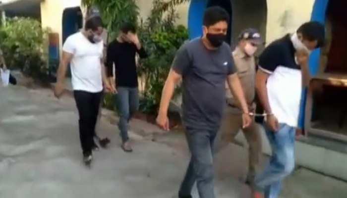 ऊधमसिंह नगर पुलिस को मिली बड़ी सफलता, 8 हजार किलो चरस के साथ 2 पुलिसकर्मी समेत 4 आरोपी गिरफ्तार