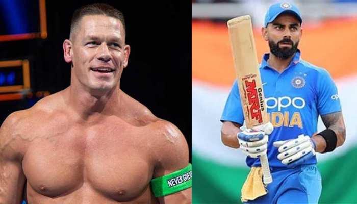WWE Superstar John Cena ने एक बार फिर पोस्ट की Virat Kohli की तस्वीर, फैंस हुए कनफ्यूज