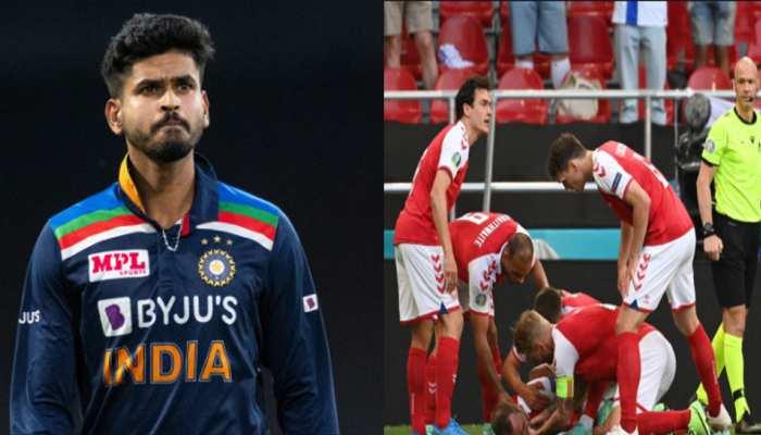 EURO 2021: क्रिकेट जगत ने Christian Eriksen के लिए की प्रार्थना, बीच मैच में हो गए थे बेहोश