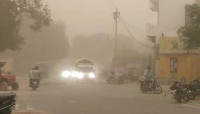 Rajasthan Weather Update : रेगिस्तान में आंधी का सितम, रेत के आगोश में समाया थार का मरुस्थल