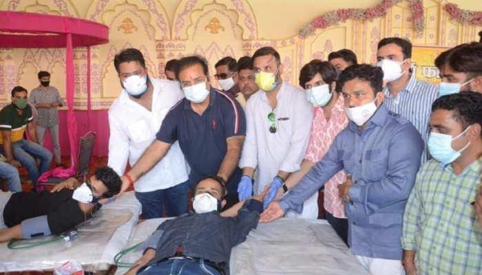 खून की कमी पूरी करने के लिए चलाई मुहिम, शौर्य फाउंडेशन ने किया 1007 यूनिट रक्तदान