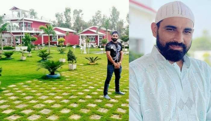 Mohammed Shami farm house price crores instagram team india bowler