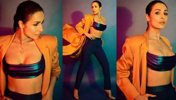Malaika Arora is crazy for off shoulder short dress, repeated it for three times