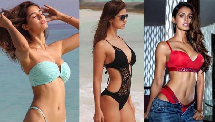 Disha Patani Most Viral Bikini Photos on the Beach or in the Resort Actress Always Raised Temprature