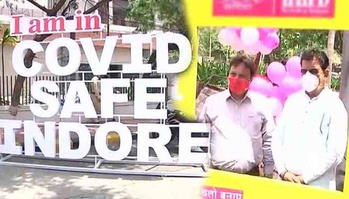MP के इंदौर में बना पहला कोविड सेफ रोड, जानिए क्यों रखा गया इसका ये नाम