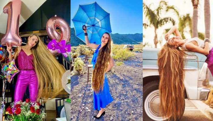 Kateryna Demers claims men offer her huge money to touch hair