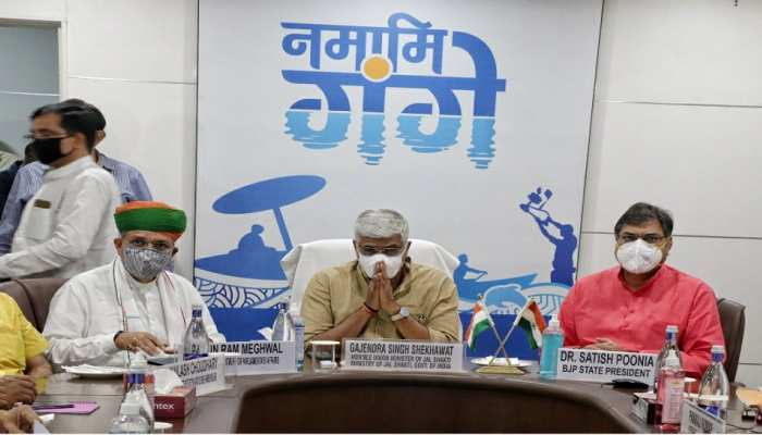 नहरों से गंदे पानी के मुद्दे पर राजस्थान BJP के नेताओं ने शेखावत से की मुलाकात, निराकरण का मिला आश्वासन