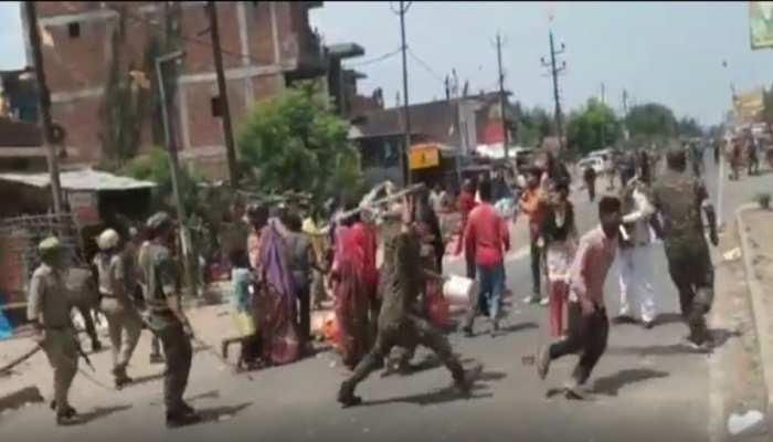 भीड़ को उकसाकर पुलिस पर पथराव कराने वाले 3 बवालियों की फोटो जारी, 25-25 हजार का इनाम