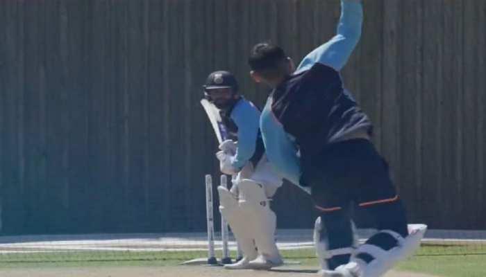 WTC: कप्तान Virat Kohli ने उठाया हिटमैन की तैयारी का जिम्मा, मैच से पहले दिखा रोहित-विराट का याराना